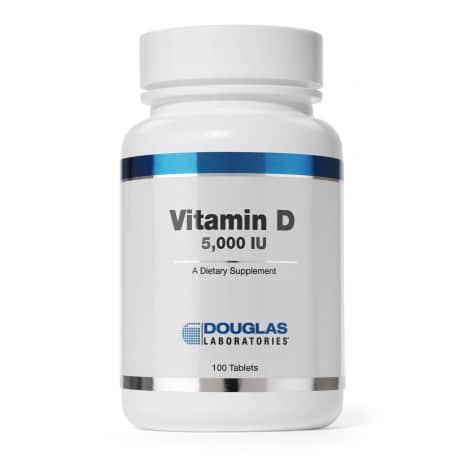 Vitamin D 5000IU 100t by Douglas Laboratories