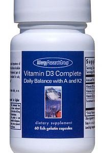 Vitamin D3 Complete w/ Vit A & K2 60sg by Allergy Research Group