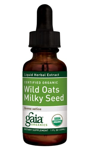 Wild Oats Milky Seed 1oz (Organic) by Gaia Herbs