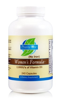 Women's Formula w/o Iron 240c by Priority One