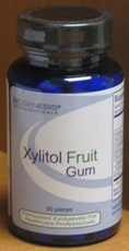 Xylitol Fruit Gum 90 pieces by Biogenesis