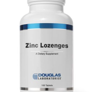 Zinc Lozenges 100 Loz by Douglas Laboratories