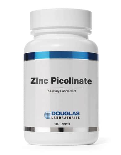Zinc Picolinate 20mg 100t by Douglas Laboratories