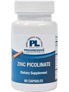 Zinc Picolinate plus 60c by Progressive Labs