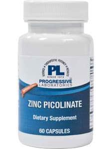 Zinc Picolinate plus 60c by Progressive Labs