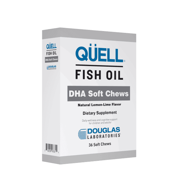 QUELL Fish Oil DHA Soft Chew 36sc by Douglas Laboratories 1