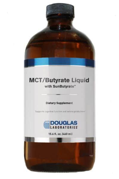 MCT/Butyrate Liquid with Sunbutyrate 460ml by Douglas Laboratories 1