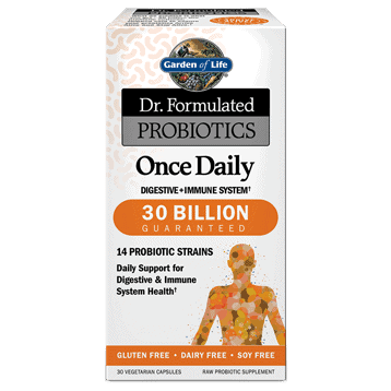Dr. Formulated Once Daily 30 vegcaps by Garden of Life 1