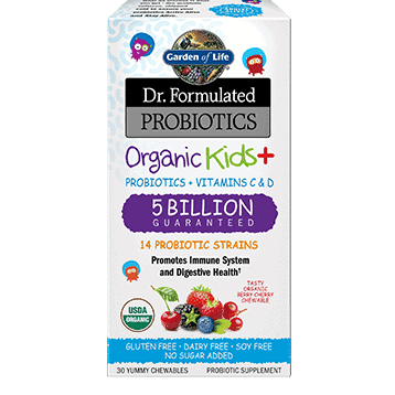 Dr. Formulated Organic Kids + 30 chews by Garden of Life 1
