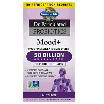 Dr. Formulated Probiotics Mood+ 60 caps by Garden of Life 1