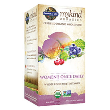 Mykind Women's Once Daily Org 30 tabs by Garden of Life 1