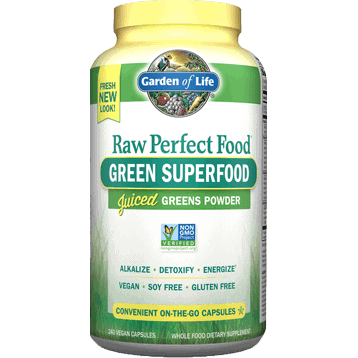 Perfect Food RAW 240 vcaps by Garden of Life 1