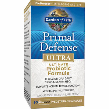 Primal Defense Ultra 90 vegcaps by Garden of Life 1