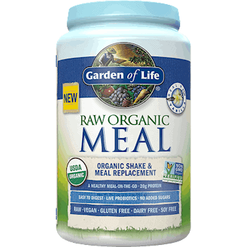 RAW Organic Meal Vanilla 28 servings by Garden of Life 1