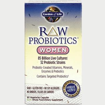 Raw Probiotics Women 90 Vcaps By Garden Of Life Integrative Psychiatry
