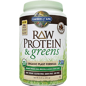 RAW Protein and Greens Chocolate 21.6 oz by Garden of Life 1