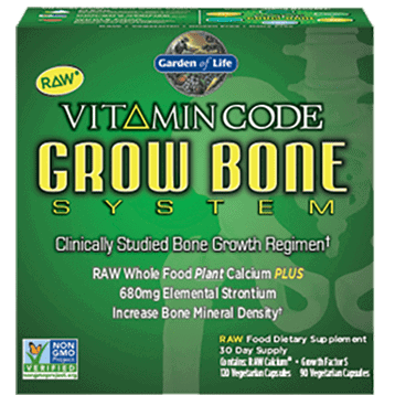 Vitamin Code Grow Bone System 1 kit by Garden of Life 1