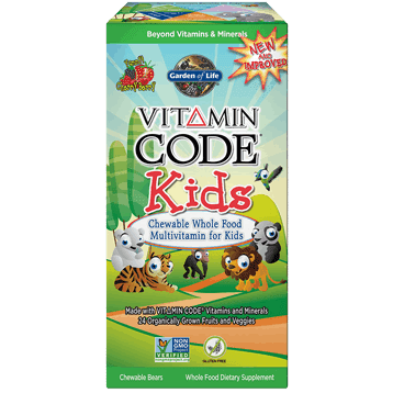 Vitamin Code Kids Chewable Multi 30 tabs by Garden of Life 1