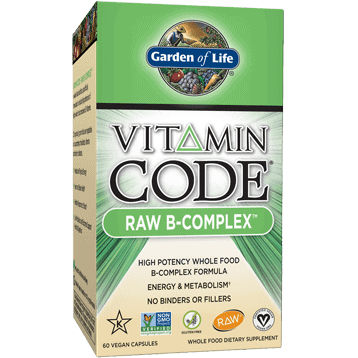 Vitamin Code Raw B-Complex 60 vcaps by Garden of Life 1