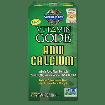 Vitamin Code Raw Calcium 120 vegcaps by Garden of Life 1