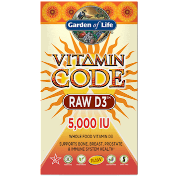 Vitamin Code Raw D3 5000 60 caps by Garden of Life 1