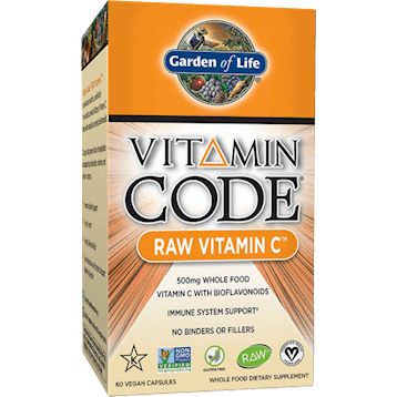 Vitamin Code Raw Vitamin C 60 vcaps by Garden of Life 1