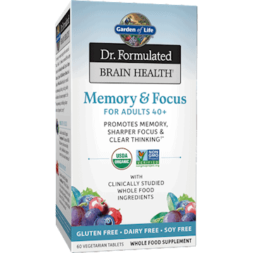 Dr. Formulated Memory Adults 40+ 60 tabs by Garden of Life 1