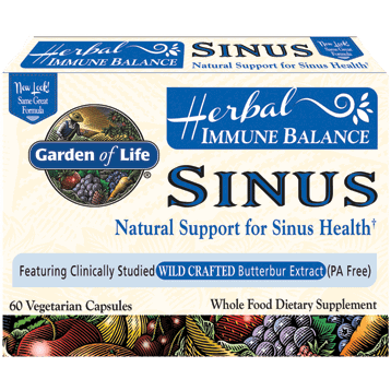 Immune Balance Sinus 60 vcaps by Garden of Life by Garden of Life 1