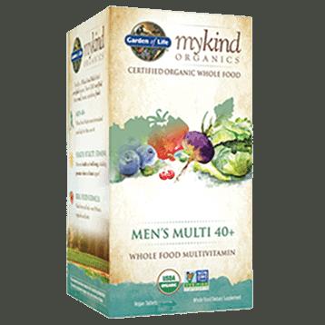 Men's Multi 40+ Organic 60 tabs by Garden of Life 1