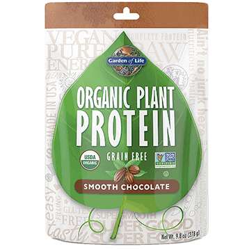 Organic Plant Protein Chocolate 9 oz by Garden of Life by Garden of Life 1