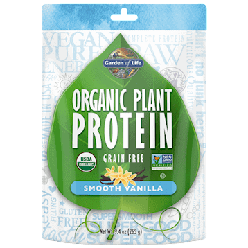Organic Plant Protein Vanilla 10 serv by Garden of Life by Garden of Life 1