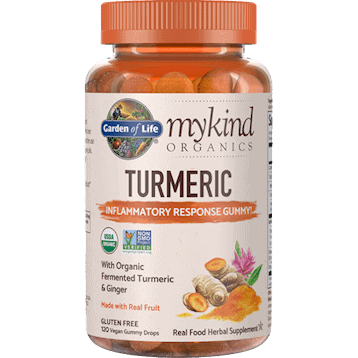 Turmeric Organic 120 gummies by Garden of Life 1