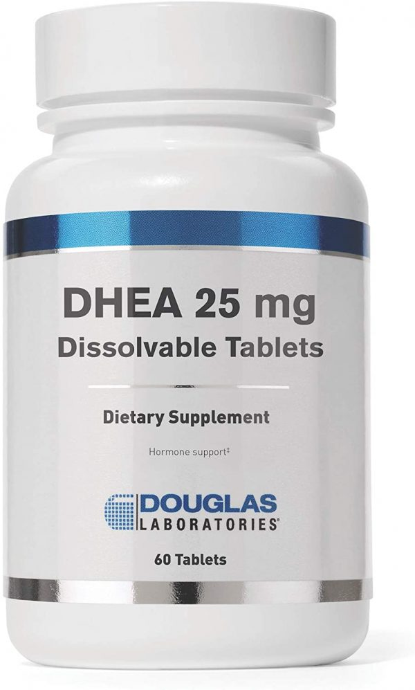 DHEA 25mg Micronized 60t by Douglas Laboratories 1