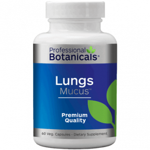 Lungs Mucus 60 caps by Professional Botanicals