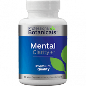 Mental Clarity + 60vcaps by Professional Botanicals