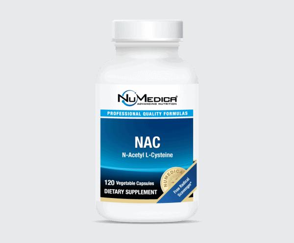 NAC (N-Acetyl Cysteine) (Large) 120c by Numedica