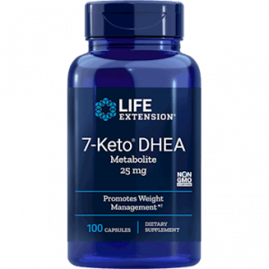 7-KETO DHEA Metabolite 25 mg 100c by Life Extension
