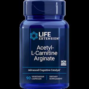 Acetyl-L-Carnitine Arginate 90vcaps by Life Extension