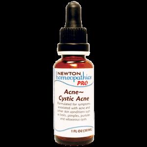 Acne~Cystic Acne 1oz by Newton Pro