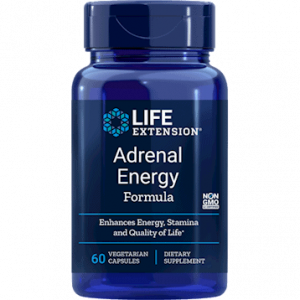 Adrenal Energy Formula 60vcaps by Life Extension