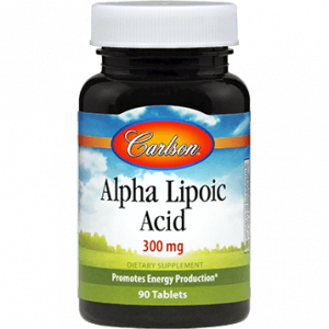 Alpha Lipoic Acid 300mg 90t By Carlson Labs