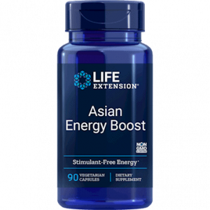Asian Energy Boost 90vcaps by Life Extension