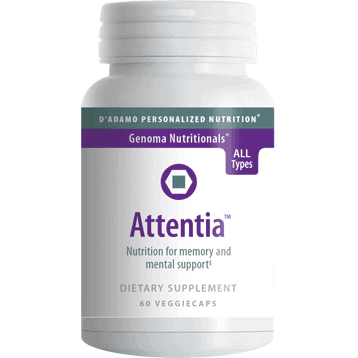 Attentia 60 vcaps by D'Adamo Personalized Nutrition