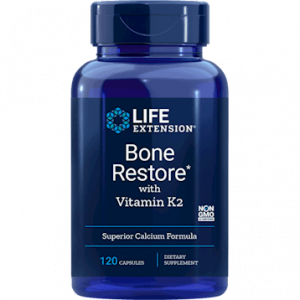 Bone Restore with Vitamin K2 120c by Life Extension