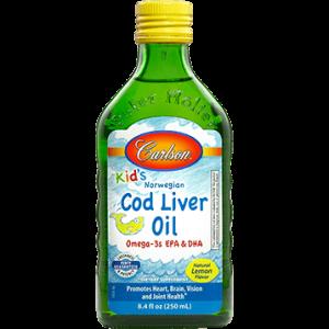 Carlson Kids Cod Liver Oil Lemon 8.4 oz by Carlson Labs