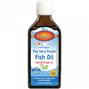 CarlsonKids Finest Fish Oil Orange 200ml by Carlson Labs