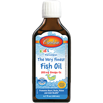 Carlsonkids Finest Fish Oil Orange 200ml By Carlson Labs