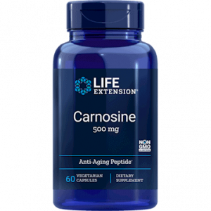 Carnosine 500mg 60vcaps by Life Extension