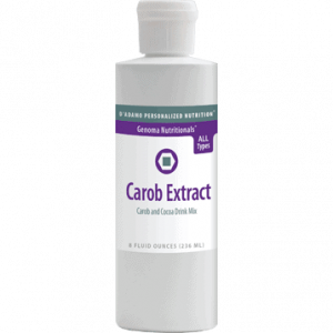Carob Extract 8 fl oz by D'Adamo Personalized Nutrition
