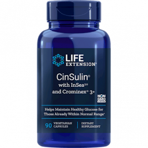 CinSulin 90vcaps by Life Extension